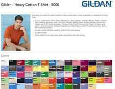 200 Gildan T-Shirt TearAway Labels Wholesale Bulk Lot ok to mix S-XL & Colors