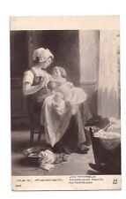 paris 1911  mlle vallayer moutet  joie maternelle