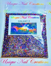 Limited Edition Glitter Mix~GALAXY 2* Comes W Alloy~ Nail Art