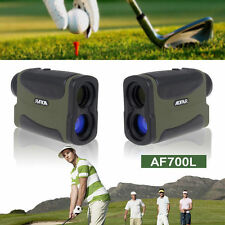 UK 6x Multifunction Laser Range Finder Telescope 700 Yard Hunting Golf Sport