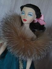 "AllforDoll BOA Genuine Fur for 16"" Tonner Tyler Sybarite Gene Ficon BJD Dolls"