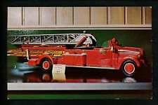 Fire Fighting postcard Toy Fire Engine Collection CK Robinson Antique Collection