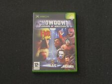 GIOCO XBOX MICROSOFT SHOWDOWN LEGEND OF WRESTLING HULK HOGAN ULTIMATE WARRIOR