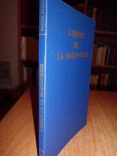 L' ESPRIT DE LA MAÇONNERIE  -  BAILEY Foster  -  1983