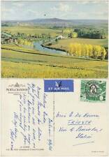 LA MARNE - VUE DE NOS VIGNOBLES (FRANCIA) POSTED FROM BAHRAIN TO ITALY 1966