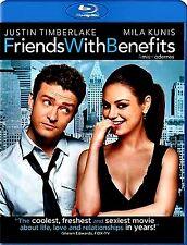 FRIENDS WITH BENEFITS // Justin Timberlake, Mila Kunis // USED BLU-RAY