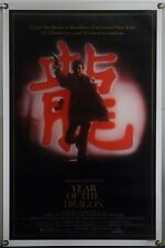 YEAR OF THE DRAGON ROLLED ORIG 1SH MOVIE POSTER MICKEY ROURKE JOHN LONE (1985)
