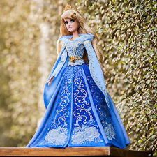 "NEW Limited Edition Deluxe Aurora 17"" Doll Blue Disney Store Sleeping Beauty"