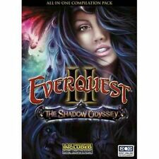 Everquest II 2 The Shadow Odyssey PC MMORPG Game computer DVD-rom Windows