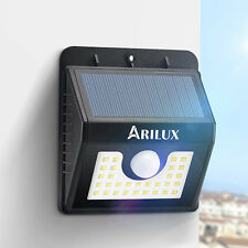 ARILUX AL-SL04 Super Bright 30 LED Solar PIR Motion Sensor Light Impermeable Luz