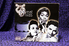 Great Divas, B. Holiday, L. Horne, M. Bailey, S. Vaughan, Doris Day, 5CD Box