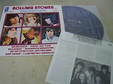 "THE ROLLING STONES(KOREA VINYL LP 12"")111TRACK GREATEST HITS VOL.2 1986 w/INSERT"