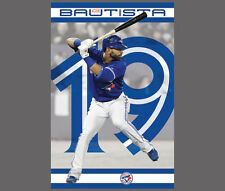 JOSE BAUTISTA Toronto Blue Jays MLB Home Run Action Official Wall POSTER