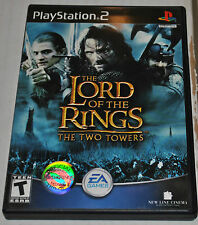LORD OF THE RINGS THE TWO TOWERS PLAY STATION 2 VIDEO GAME