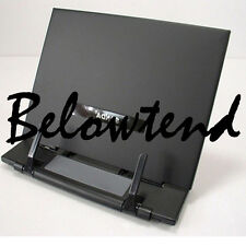 Portable Steel Book Document Holder Reading Desk Book Stand Bookrest Bookstand