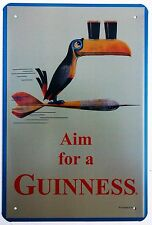 GUINNESS DARTS RETRO METAL TIN SIGNS vintage cafe pub bar garage