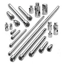 Craftsman 21 pc Socket Adapter Extension Accessory Kit Ratchet U Joints Bar Tool