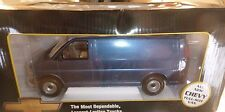 BROOKFIELD 1/24 1996 CHEVY VAN PROMO 1/25 MODEL CAR MOUNTAIN BLUE