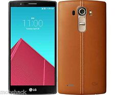 "LG G4 Leather Black / Brown / Red 32 GB/3GB - 5.5"" 4G Hotspot Smartphone"
