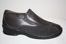 Propet Ped Rx Brown Leather Slip On Walking Loafers Shoes WPRX28 Womens SZ 7 M