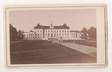 Vintage CDV Drottningholm Palace private residence of the Swedish royal family