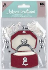 JOLEE'S BOUTIQUE Medium Stickers ENGAGEMENT RING Wedding Fiance She Said Yes