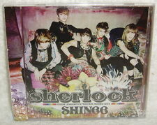 SHINee Sherlock Taiwan CD only+poster booklet-Normal Edition-[Japanese Language]