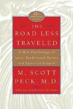 The Road Less Traveled, 25th Anniversary Edition : A New Psychology of-ExLibrary