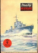 Mały Modelarz 1986/09 Niszczyciel OPR Garland