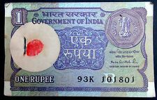 1-ONE RS. 100 SERIAL NOTES BUNDAL RARE BACK SIDE BOMBAY HIGH - 1991 -INDIA