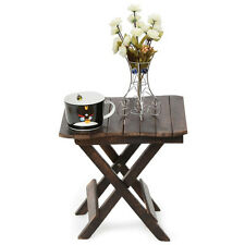 Onlineshoppee Wooden Deautiful Design Folding Table For Living Room