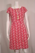 Old Navy Misses 2 Pink White Floral Embroidered Sheath Dress