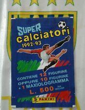 Bustina SuperCalciatori 1992 1993 panini  SIGILLATA
