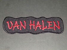 PUNK ROCK METAL MUSIC SEW/IRON ON PATCH:- VAN HALEN (a)