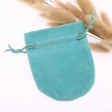 10pcs Drawstring bags Jewelry Velvet bags Christmas Gift Pouches 6.5*8cm