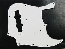 Estados unidos JB White 3 ply-pickguard-FITS to Jazz Bass ® - Montreux selected