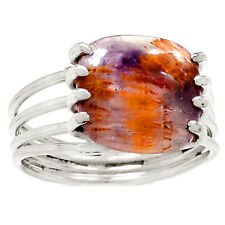 Cacoxenite 925 Silver Ring s.10 Jewelry RR9179