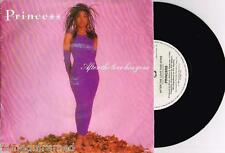 """PRINCESS - AFTER THE LOVE HAS GONE - 7"""" 45 RECORD w PICT SLV - 1985"""