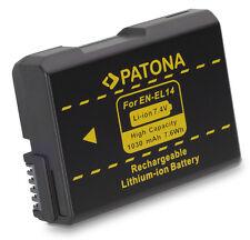Patona Akku für Nikon D5100, D5200, D5300, D5500 - EN-EL14 - mit CHIP
