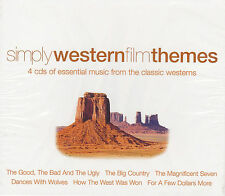 [NEW] 4CD: SIMPLY WESTERN FILM THEMES