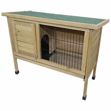 RABBIT HUTCH GUNIEA PIG OUTDOOR GARDEN HOUSE HUTCHES RUN RUNS FERRET CAGE  PET