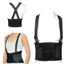 Back Support Lumbar Brace Belt Double Pull Strap Lower Pain Posture Corrector M