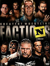 WWE: Wrestling's Greatest Factions DVDs-Good Condition