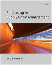 NEW Purchasing and Supply Chain Management (3rd Edition) (International Edition)