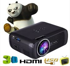 2017 EVERYCOM X7 NEW ARRIVAL  LED Projector Home Cinema Theater VGA HD