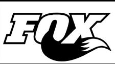 2 pc set Fox Racing Vinyl Sticker Decal Logo Overlay Vehicle Graphic Fox Racing