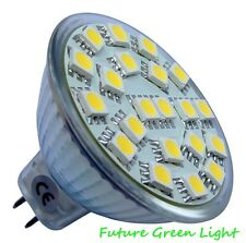 MR16 21 SMD LED 2.6W 12V 280LM WARM WHITE BULB ~50W