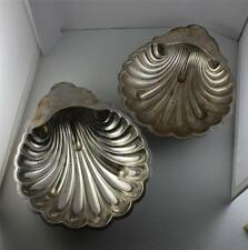 EG Webster & Son VTG Art Deco Silverplate Oyster Naval Clam Old Tray Manticore