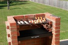 Black Knight DIY Brick BBQ Kit set with Chrome Grill & FREE winter storage bag