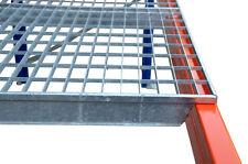 3x Palettenregal Gitterrost 1100mm x 880mm max.800Kg Regalboden Stahlboden